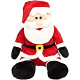 #9: Santa Claus Stuffed Soft Plush Toy Teddy Best Christmas Gift for Kids(35cm)