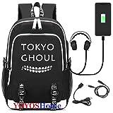 YOYOSHome, Uni Kinderrucksack Schwarz Tokyo Ghoul L