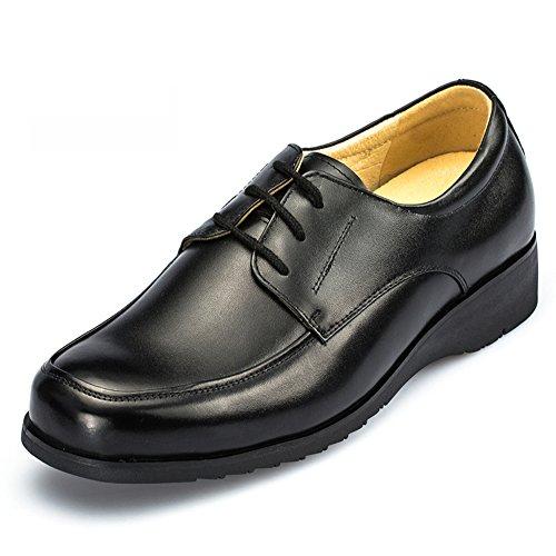 scarpe basse sul lavoro/Abbigliamento scarpe casual business/Traspirante scarpe-A Lunghezza (Nero Smooth Pu Bambini Scarpe)
