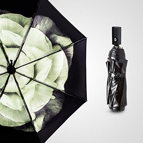 Parasol double parapluie automatique double couche Parasol double usage Sunscreen UV anti-UV parapluies Parapluie ensoleillé ( Couleur : #2 )