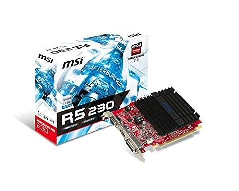 MSI Radeon R5 230 1GD3H LP 1024MB DDR3 64bit PCI-Ex 1x DVI 1xHDMI (Ati Radeon Low Profile)