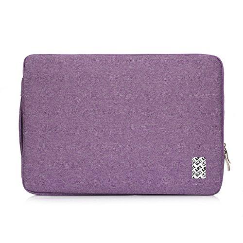 LefRight 13-13,3 Pouces Macbook Air/Macbook Pro/Retina Housse Etui Housse de Protection Portant Le Sac de Protection pour 13 Pouces Netbook ultrabook Violet