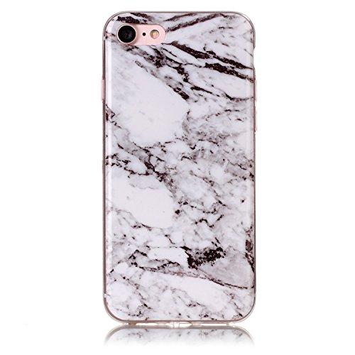 Für Apple IPhone 6 6s Fall Marmorierung Textur Weiche TPU Abdeckung Slim Ultra Thin Anti-Kratzer Schock Absorption schützende rückseitige Abdeckung Shell ( Color : M ) M