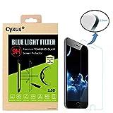 Cyxus filtro de luz azul (mejor sueño) bloqueo uv ultra HD 9H pantalla de vidrio temperado para Apple iPhone 6 iphone 6S (4,7 pulgada) Especialmente diseñado para mujeres