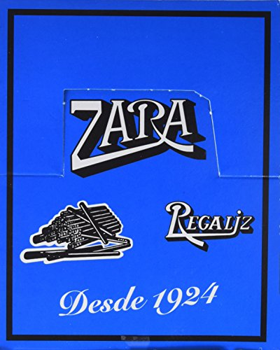 Zara - Regaliz sin azúcar - 100 unidades