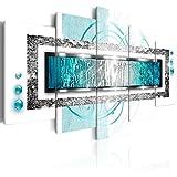 murando - Bilder 200x100 cm - Vlies Leinwandbild - 5 TLG - Kunstdruck - modern - Wandbilder XXL - Wanddekoration - Design - Wand Bild - Abstrakt a-A-0003-b-o