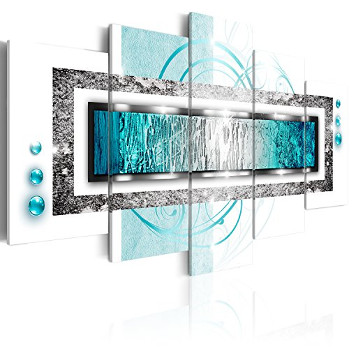 murando - Acrylglasbild Abstrakt 200x100 cm - 5 Teilig - Bilder Wandbild - modern - Decoration - Abstrakt a-A-0003-k-o