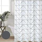 Duschvorhang-Europäisches Badezimmer Wasserdicht Duschvorhang-Set Sanitärtrennwand Vorhänge Fenster Vorhänge Badevorhänge Undurchlässige Vorhänge - 200 (W) * 240 (H) cm