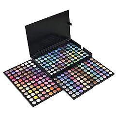 Idea Regalo - Netspower Nudo Palette Ombretti di 252 colori, Occhi dell'ombra di Occhio della Gamma di Colori dell'ombra del Corredo di Trucco Make Up Box Professional Colori Shimmer Make Up Palette Nuovo