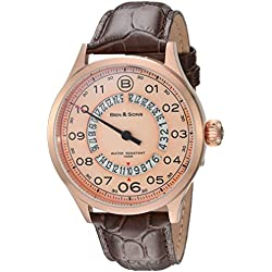 Ben & Sons-Herren-Armbanduhr-BS-10017-RG-016-BRW