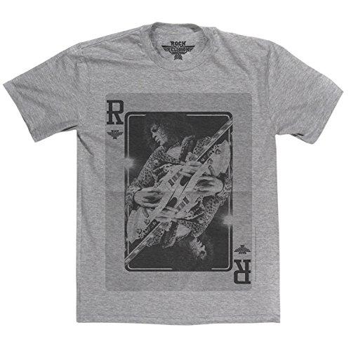 Rock Is Religion Herren T-Shirt Grau (Sports Grey)