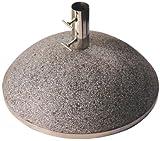 Esschert PV6 design, Schirmfuß granito 43,9 kg L, 50 x 30 x 50 cm, grau