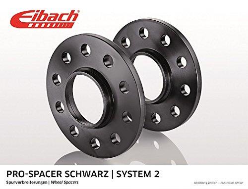 Preisvergleich Produktbild Eibach Spurverbreiterung Pro-Spacer S90-2-15-013-B System 2 30mm 5 / 112 57 Schwarz