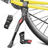 Fahrradständer,Yica Fahrrad Seitenständer Faltbarer einstellbarer Universal Fahrrad Ständer mit Anti-Rutsch Gummifuß Aluminiunlegierung für Mountainbike, Rennrad, Fahrräder und Weitere
