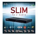 EVO Slim T2/C Terrestre 750MHz Dual Core, IPTV, Enigma 2