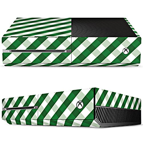 microsoft-xbox-one-skin-vinyl-skin-stickers-protective-film-karo-gross-grun