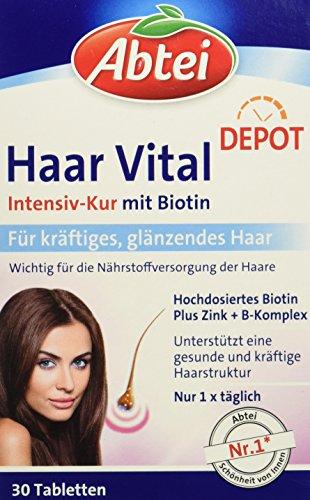 Vital-tablette, Vitamine (Abtei Haar Vital Intensiv Kur, 1er Pack)