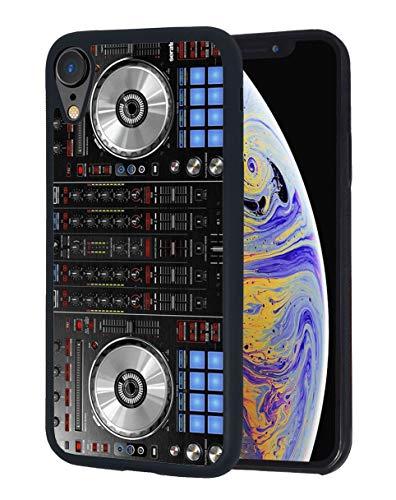 iPhone XR Hülle, DJ-Mixer-Design, schlankes Design, stoßfest, stoßdämpfend, Gummi-Schutzhülle für Apple iPhone XR (2018) 15,1 Zoll