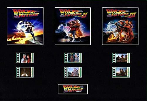 Generic Zurück in die Zukunft Trilogie Film Cell Style Display 10x 8montiert, Ohne Rahmen, 25 x 20 cm