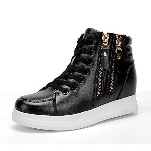Chaussures pour femmes chaussures de sport sauvage blanc augmenté chaussures chaussures télévision coréenne