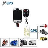 TKSTAR GPS Ortung, Wasserdicht Echtzeit GPS Tracker mit Fernbedienung Fahrzeug Auto Motorrad LKW GPS Locator Diebstahlschutz mit Google Map Diebstahlschutz für kostenlose App TK303G