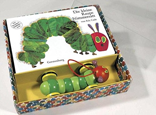 Preisvergleich Produktbild Die kleine Raupe Nimmersatt. Pappbilderbuch und Holzspielzeug: Das besondere Spielbilderbuch