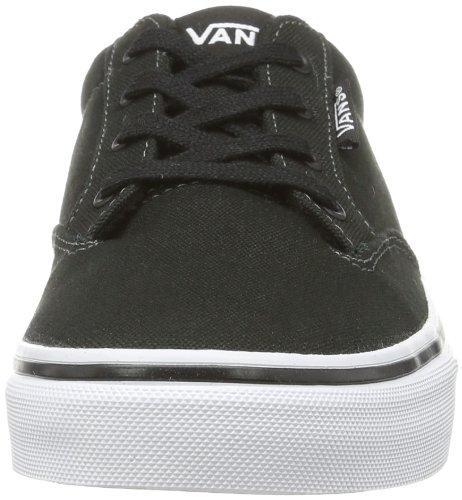Vans Y Winston, Baskets mode mixte enfant Noir (Black/White)