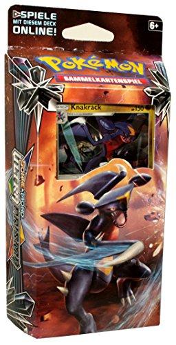 Pokemon - Sonne und Mond Serie 5 - Ultra-Prisma - Themendecks - Deutsch (1 Knakrack Deck) - 5 Karten-packs Pokemon