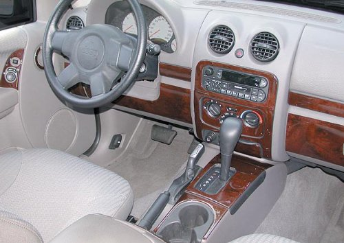 Jeep Cherokee Sport Iinterior Burl Wood Dash Trim Kit Set 1997 1998 1999 2000 2001