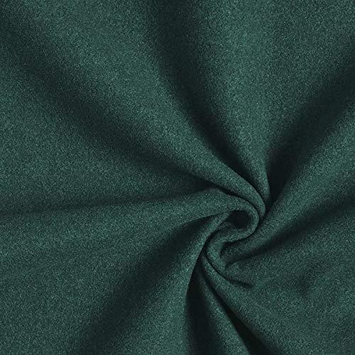 Fabulous Fabrics Thermovorhangstoff Manto – Petrol — Meterware ab 0,5m — zum Nähen von Vorhänge