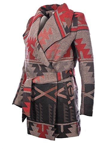 Kaporal Damen Mantel Rot