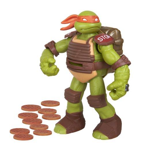 Teenage Mutant Ninja Turtles Flingers Disc Firing Michelangelo Figure