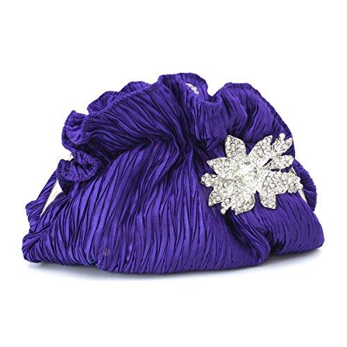 Frizioni E Borse Da Sera Per La Festa Delle Donne Pochette Purple