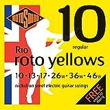 Rotosound in Nickel, per chitarra elettrica standard, 10, 13, 17 e 26 36 46)