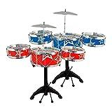 Generic Instrument Spielzeug MAS GI Kit Spieluhr T Xmas Big Band Kids Sical Weihnachts Geschenk T Kit Musik Drum Set