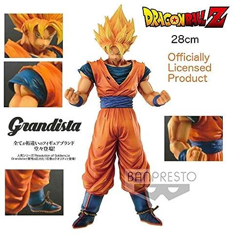 Original Banpresto Dragonball Z Grandista Resolution of Soldiers Son Goku