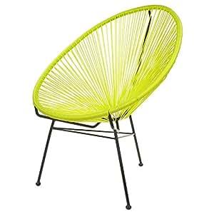 la chaise longue fauteuil acapulco vert amande jardin. Black Bedroom Furniture Sets. Home Design Ideas