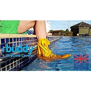 Buddy Wasserdicht kurz Bein/Fuß/Knöchel oder Verletzungen Cover für Dusche Bad und Schwimmen