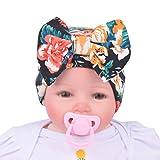 TININNA Bonnets Nouveau né Coton Crochet Papillons Chapeau Unisexe Bébé Garçon Fille Naissance Tricot Hat Cap 0-3 Mois Orange