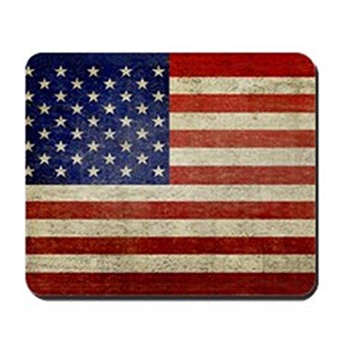 CafePress-5x 3rect _ Aufkleber _ American _ Flag _ Old-rutschfeste Gummi Mauspad, Gaming Maus Pad Regierung Marine