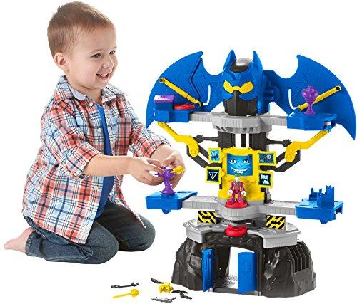 Imaginext Batman, Batcueva transformable, Juguete para niño +3 años (Mattel DNF93)
