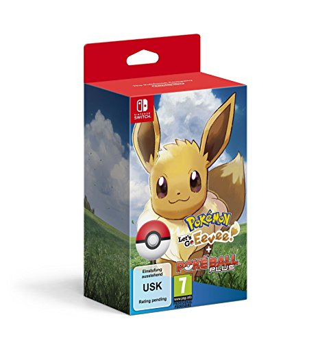 Pokémon: Let's Go, Évoli!+ Pokéball Plus - [Nintendo Switch]