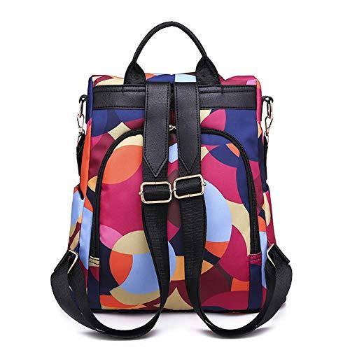 Mode Rucksack Anti-Diebstahl-Frauen Markennamen Damen Rucksack Qualität Wasserdicht Oxford Tuch Damen Rucksack (Für Markenname-sonnenbrillen Frauen)