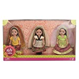 #4: MATTEL TOYS Kelly In India (Set of 3)