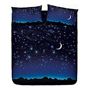 bassetti parure de lit pluie d 39 toiles sur combin uni cuisine maison. Black Bedroom Furniture Sets. Home Design Ideas