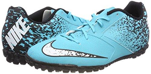 NIKE Men    s Bombax Tf Footbal Shoes  Blue  Gamma Bluewhiteblack 411   8 UK