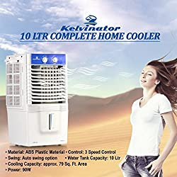 Kelvinator KPC-10 90 Watts 10 Litre Personal Air Cooler For Medium Room