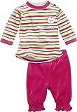 Schnizler Mädchen Jogginganzug Nickianzug 2 - teilig, My Sweet Bear, Oeko - Tex Standard 100, Gr. 74, Mehrfarbig (grau/melange 37)