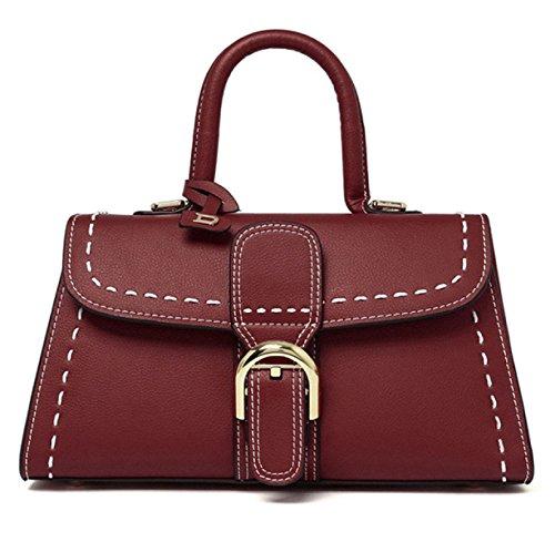 Primavera In Pelle Ladies Handbag Red