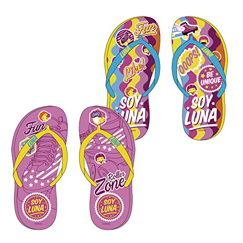 Tongs SOY LUNA Brides Jaunes